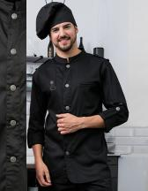 Chefs Jacket Bikerstyle with Epaulettes
