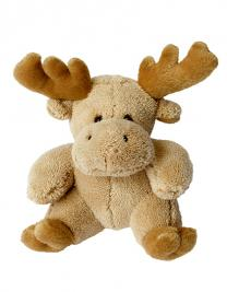 Soft Plush Moose Carina